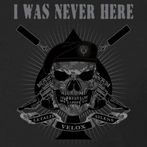 I WAS NEVER HERE - Men's Premium Long Sleeve T-Shirt