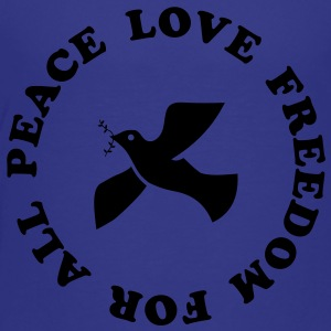 peace love freedom for all Kids' Shirts - Toddler Premium T-Shirt