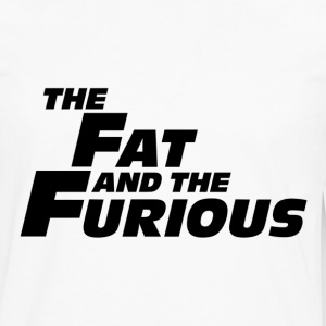The Fat and the Furious T-Shirts - Men's Premium Long Sleeve T-Shirt
