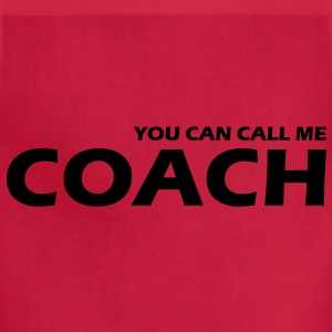 you can call me coach T-Shirts - Adjustable Apron