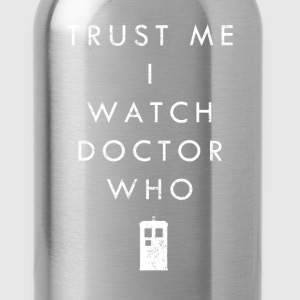 Trust Me I Watch Doctor Who | Robot Plunger - Water Bottle
