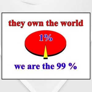 we are the 99% percent - occupy wallstreet - Bandana