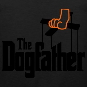 The Dogfather! T-Shirts - Men's Premium Tank
