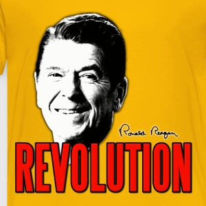 Ronald Reagan Revolution Kids' Shirts - Toddler Premium T-Shirt
