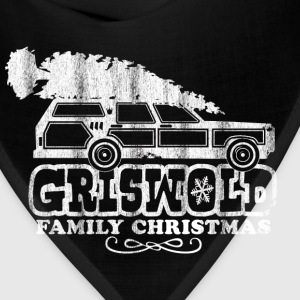GRISWOLD FAMILY VACATION MOVIE vintage retro CHRISTMAS T-SHIRT RED - Bandana