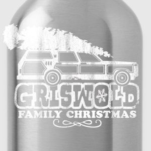 GRISWOLD FAMILY VACATION MOVIE vintage retro CHRISTMAS T-SHIRT RED - Water Bottle