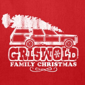 GRISWOLD FAMILY VACATION MOVIE vintage retro CHRISTMAS T-SHIRT RED - Tote Bag