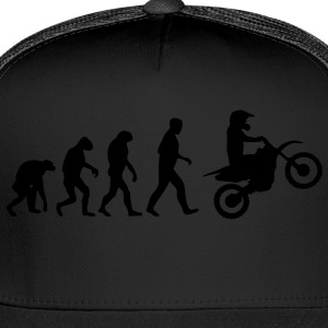 motocross evolution T-Shirts - Trucker Cap