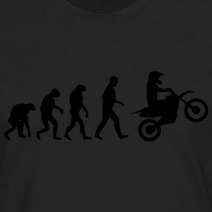 motocross evolution T-Shirts - Men's Premium Long Sleeve T-Shirt