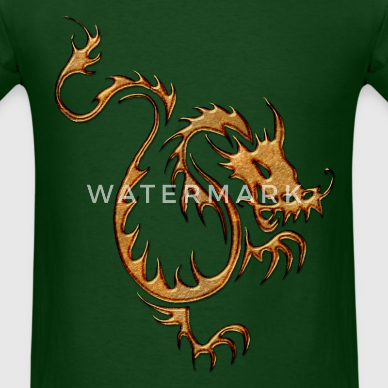 Chinese Gold Dragon I - Men's T-Shirt
