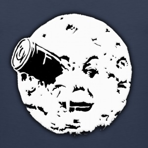 Le Voyage dans le Lune Hugo Man In Moon T-Shirts - Men's Premium Tank
