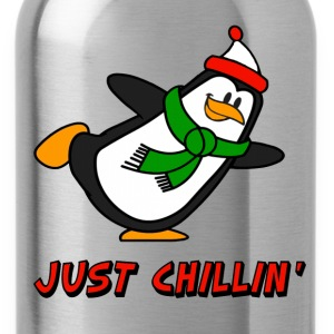 Just Chillin' Penguin Chilly Willy T-Shirts - Water Bottle