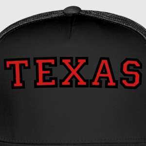 Texas T-Shirt White/Gold - Trucker Cap