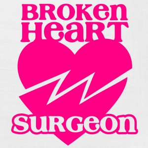 Broken heart surgeon funny design for anyone out of luck with Romance T-Shirts - Bandana