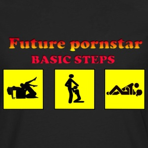 future pornstar - Men's Premium Long Sleeve T-Shirt