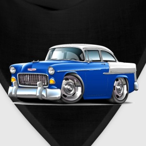 1955 Chevy Belair Blue Car - Bandana
