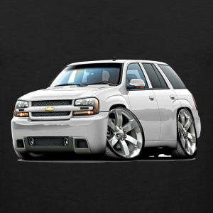 Chevy Trailblazer SS White Truck - Men's Premium Tank