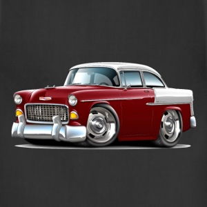 1955 Chevy Belair Maroon Car - Adjustable Apron