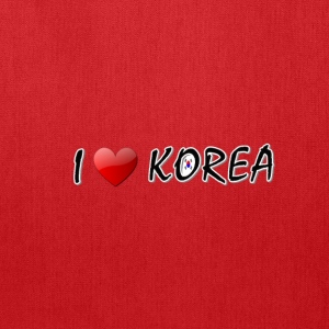 I LOVE KOREA txt s.korea flag art Toddler T-Shirt - Tote Bag