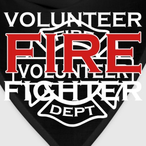 Volunteer fire fighter 2 side - Bandana