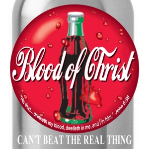 Blood of Christ by GP Wear T-Shirts - Water Bottle