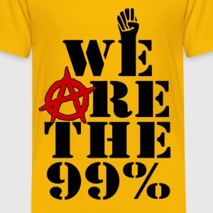 We Are The 99% Occupy Wall Street Kids' Shirts - Toddler Premium T-Shirt