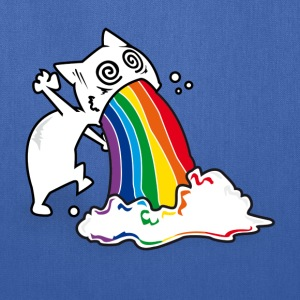 catrainbowvomit T-Shirts - Tote Bag