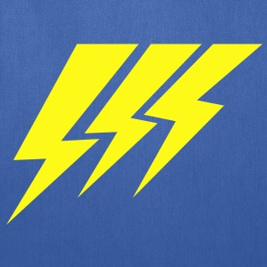 THREE STRIKE LIGHTNING lightning strikes Kids' Shirts - Tote Bag