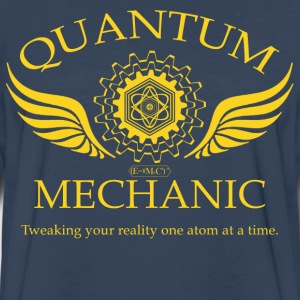 QUANTUM MECHANIC - O - Men's Premium Long Sleeve T-Shirt