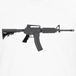 M-4 Rifle T-Shirts - Men's Premium Long Sleeve T-Shirt
