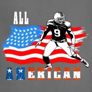All American Football player 4 T-Shirts - Adjustable Apron