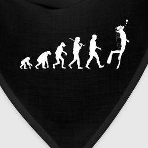 Scuba diving Evolution funny - Bandana