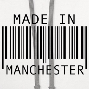 Made in Manchester T-Shirts - Contrast Hoodie