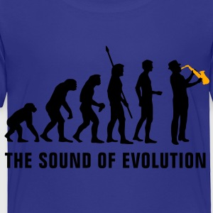 evolution_saxophon_b_2c Kids' Shirts - Toddler Premium T-Shirt