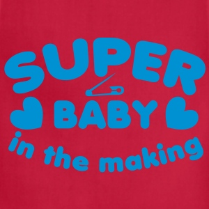 SUPER baby in the making!  T-Shirts - Adjustable Apron