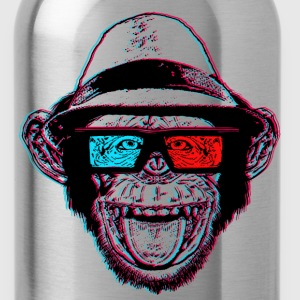 HIPSTER CHIMP - AKA THE CHIMPSTER - Water Bottle