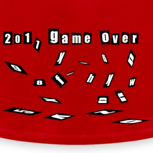 game over 2011 happy new year 2012 christmas Toddler Shirts - Men's Premium Tank