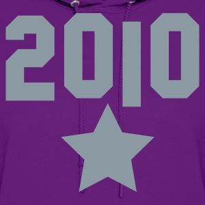 2010 silver star T-Shirts - Women's Hoodie