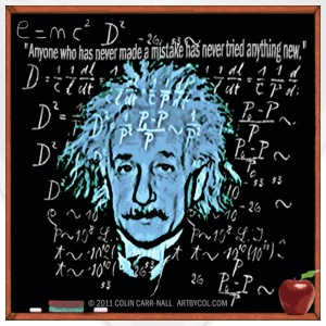 Theory of Relativity T-Shirt Design by Colin Carr-Nall © 2011 COLIN CARR-NALL  ARTBYCOL.COM T-Shirts - Bandana