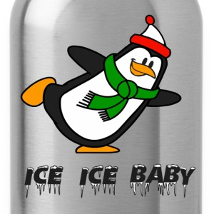 Ice Ice Baby Penguin Chilly Willy T-Shirts - Water Bottle
