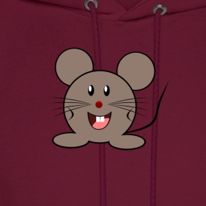 Cute Cartoon Mouse - Men's Hoodie