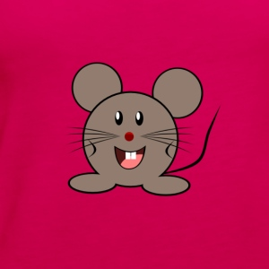 Cute Cartoon Mouse - Women's Premium Tank Top