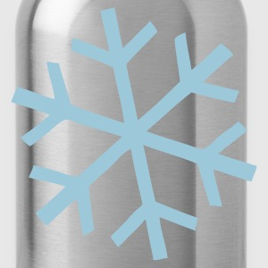 Snowflake T-Shirts - Water Bottle