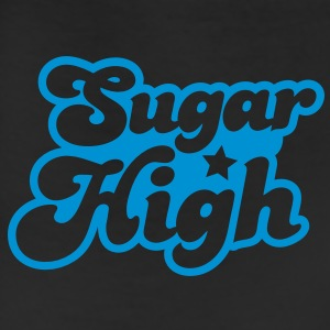 sugar high blue in a funky font T-Shirts - Leggings