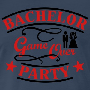 bachelor party game over T-Shirts - Men's Premium T-Shirt