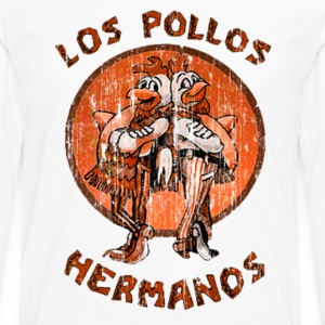 los pollos orange T-Shirts - Men's Premium Long Sleeve T-Shirt