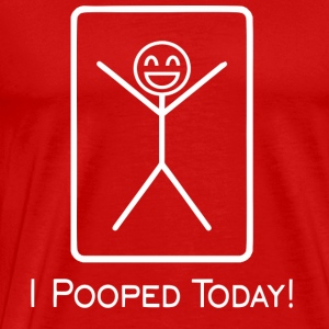 pooped T-Shirts - Men's Premium T-Shirt