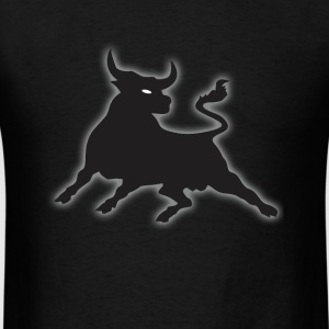 Black Power Bull T-Shirts - Men's T-Shirt