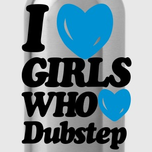 I Love Girls Who Love Dubstep (Classic)  T-Shirts - Water Bottle