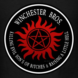 Winchester Bros protection Symbal Ring Patch 03 T-Shirts - Men's T-Shirt